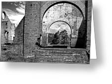 Pump House Western View Greeting Card