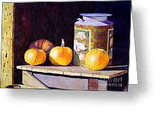 Pumpkiins At Collier Farm Greeting Card