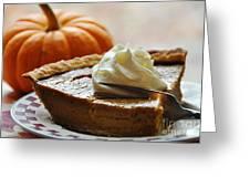 Pumpkin Delight Greeting Card