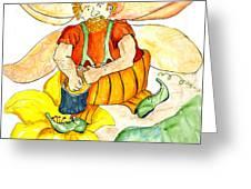 Pumpkin Fairy Greeting Card