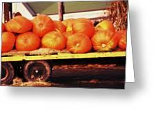 Pumpkin Load Greeting Card