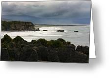 Punakaiki Rocks Greeting Card
