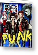 Punk Style Greeting Card