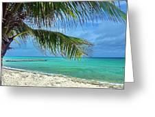 Punta Cana Getaway Greeting Card