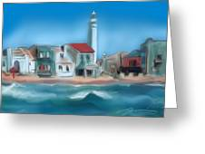 Punta Secca Sicily Greeting Card