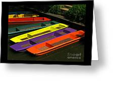 Punts For Hire Greeting Card