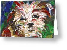 Puppy Spirit 101 Greeting Card