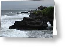 Pura Tanah Lot Bali Indonesia Greeting Card