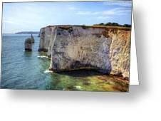 Purbeck - Dorset Greeting Card by Joana Kruse