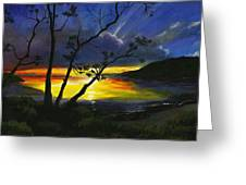 Purdy Sunset Greeting Card