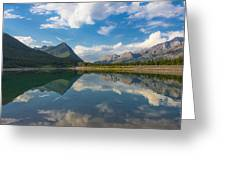 Purely Alberta Greeting Card by Laura Bentley