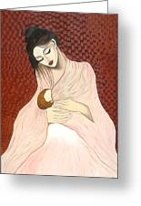 Purest Form Of Love Greeting Card by Rejeena Niaz