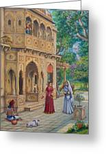 Purnamasi In House Of Kirtida Greeting Card