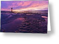 Purple After The Rain Greeting Card