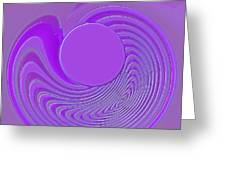 Purple Alchemy Greeting Card