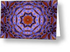 Purple Design 2 Greeting Card