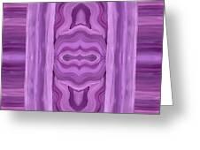 Purple Dreams Pattern Greeting Card