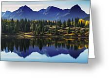 Purple Mountains Majesty Greeting Card