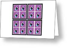 Purple Nights Greeting Card