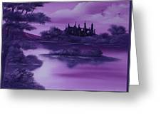 Purple Palace For Sale Greeting Card