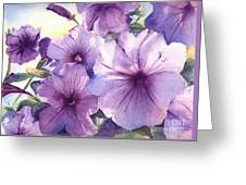 Purple Profusion Greeting Card