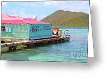 Pussers Bvi Greeting Card
