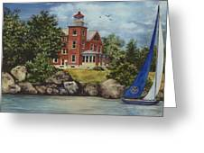 Put-in-bay Lighthouse Greeting Card