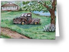 Put Out To Pasture Greeting Card
