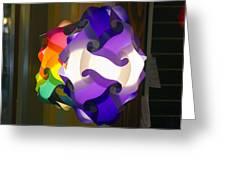 Puzzle Lamp Greeting Card