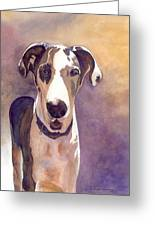 Puzzle The Great Dane Greeting Card