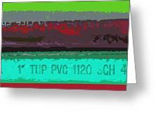 PVC Greeting Card