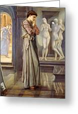 Pygmalion And The Image - The Heart Desires Greeting Card