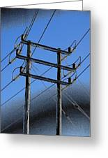 Pylon 21a Greeting Card