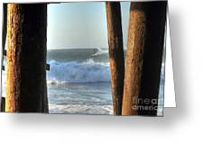 Pylon Surfer Greeting Card