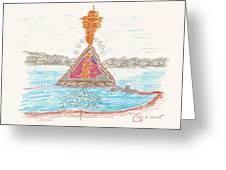 Pyramid Lake - Nevada Greeting Card