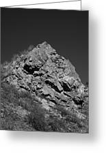 Pyramid Of Rock Greeting Card