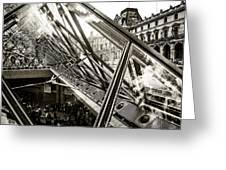 Pyramid. Paris. Greeting Card