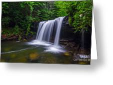 Quadrule Falls Summer Greeting Card