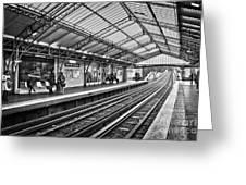 Quai De La Gare Greeting Card