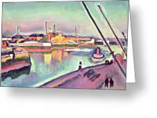 Quai Notre Dame Le Havre Greeting Card