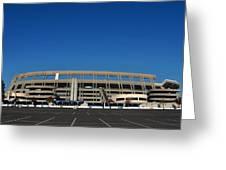 Qualcomm Stadium Greeting Card