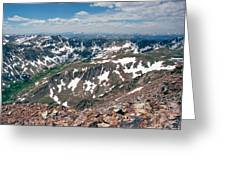 Quandry Peak 14264 Greeting Card