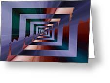 Quantum Conundrum Greeting Card by Tim Allen