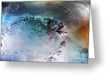 Quantum Leap Greeting Card by Petros Yiannakas