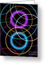 Quantum Physics, Conceptual Artwork Greeting Card
