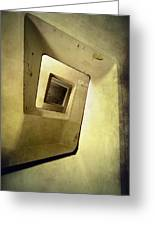 Square Staircase Greeting Card