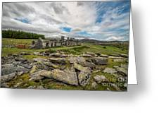 Quarry Cottages Greeting Card