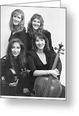 Quartet Of Muses II Greeting Card