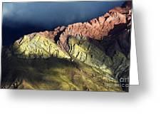 Quebrada De Humahuaca Argentina 3 Greeting Card
