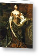 Queen Anne Of England (1665-1714) Greeting Card